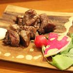 旬・和洋居酒屋 EARTH - ラムカルビのステーキ