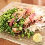 旬・和洋居酒屋 EARTH - 軍鶏のたたき