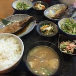 紀もと - 料理写真:焼き魚定食