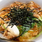 49178641 - 直火炙りの親子丼・そば。ランチで、1030円。