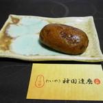 たいやき 神田達磨 - かりんとうまんじゅう〈つぶあん〉¥110
