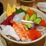 すし・旬彩 鷹の羽 - 海鮮丼