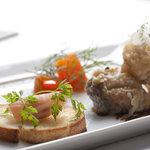 トランジット・カフェ - アンティパストの前菜盛り合わせ(ランチ)