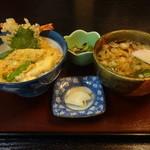 すし藤 - 料理写真:天丼セット800円(税込)