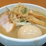 味噌麺処 花道 - 味玉味噌ラーメン