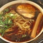 金久右衛門 - 大阪ブラック(細麺)