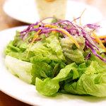 49183907 - 前菜のサラダ                       (^○^)