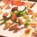 ロッシ - ディナーの前菜