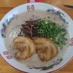 鷹多花 - 料理写真:濃厚とんこつ