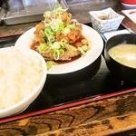 にこり - 香味ソース唐揚げ定食
