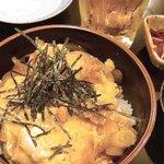 炭火焼鳥 まさたか - 親子丼(380円)