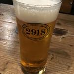 2918 - 生ビール300円
