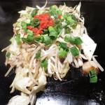 オモニ - シーフード野菜炒め