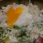 焼きとりの とりこ - 温泉玉子入りシーザーサラダ
