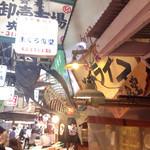 鶴橋まぐろ食堂 - 外観