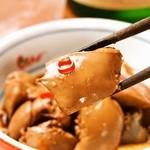 炭火串焼と旬鮮料理の店 下関 炭旬 - 名物!レバーのたまり漬け