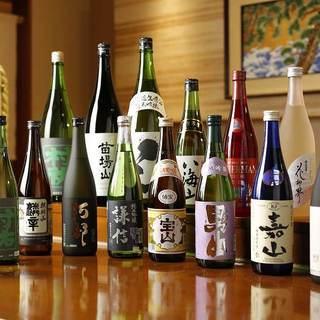 新潟全90蔵の銘酒を常時ご用意