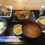 てん - フライ盛り定食 ¥670
