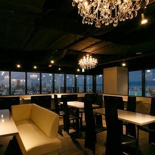 【個室&夜景の見える席】デートや女子会&お食事会・コンパに◎