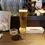 ドイツ酒場 ミュンヘン - いまだけ、ドイツの生ビール・ヘルがなんと200円!