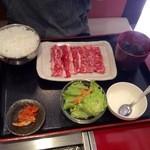 名門 - 和牛カルビ焼きセット