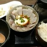 茶らく - 真鯛と鯵の漁師飯