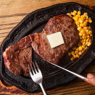 朝からステーキが楽しめちゃう!AM6時まで元気に営業中♪