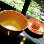 上林春松本店 - 抹茶セット