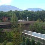 軽井沢倶楽部 ホテル軽井沢1130 - 浅間山を部屋から望む