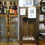 4921739 - 2階に料理を運ぶ手動リフト(?)
