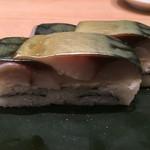 築地 銀一貫 - 平成28年3月31日  サバ棒寿司