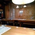 酒と肴のぬくもり宿 おふろ - 何故か沖縄チックな宴会席
