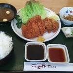 ともしげ - トンカツ定食