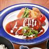 神戸牛ハンバーグセット