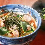 旬味和膳 季乃庄 - 親子丼(うどん付)1000円