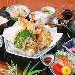 旬味和膳 季乃庄 - 天ぷら膳 2000円