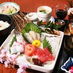 旬味和膳 季乃庄 - お刺身膳 2500円