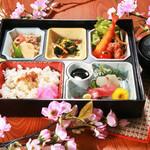 旬味和膳 季乃庄 - 季節弁当 1000円(要ご予約)