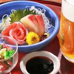 旬味和膳 季乃庄 - ほろ酔いセット(和・洋) 1000円