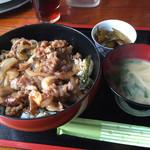 幹 - 料理写真:ランチの焼肉丼