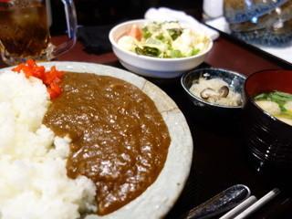 さかな家 会津若松店 - ランチカレー(\600税込み)