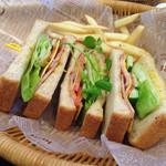 ティーズ - Sandwiches(B.L.Tサンド)