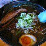 らー麺 くさび - 【黒みそ…730円】♪2010/8