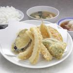 天ぷら えびす食堂 - いか