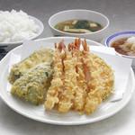 天ぷら えびす食堂 - えび