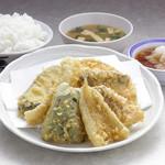 天ぷら えびす食堂 - えびす