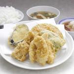 天ぷら えびす食堂 - とり