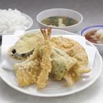 天ぷら えびす食堂 - ミックス