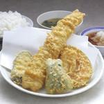 天ぷら えびす食堂 - 穴子