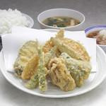 天ぷら えびす食堂 - 野菜